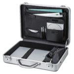 大型ノートPCでも安心して持ち運べるスタイリッシュなアルミ製アタッシュケースを発売