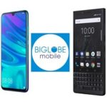 BIGLOBEモバイルにて、HUAWEI nova lite 3とBlackBerry KEY2追加
