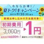 IIJmio、端末もお買得、月額600円から格安SIMをはじめられる「夏トクキャンペーン」開催